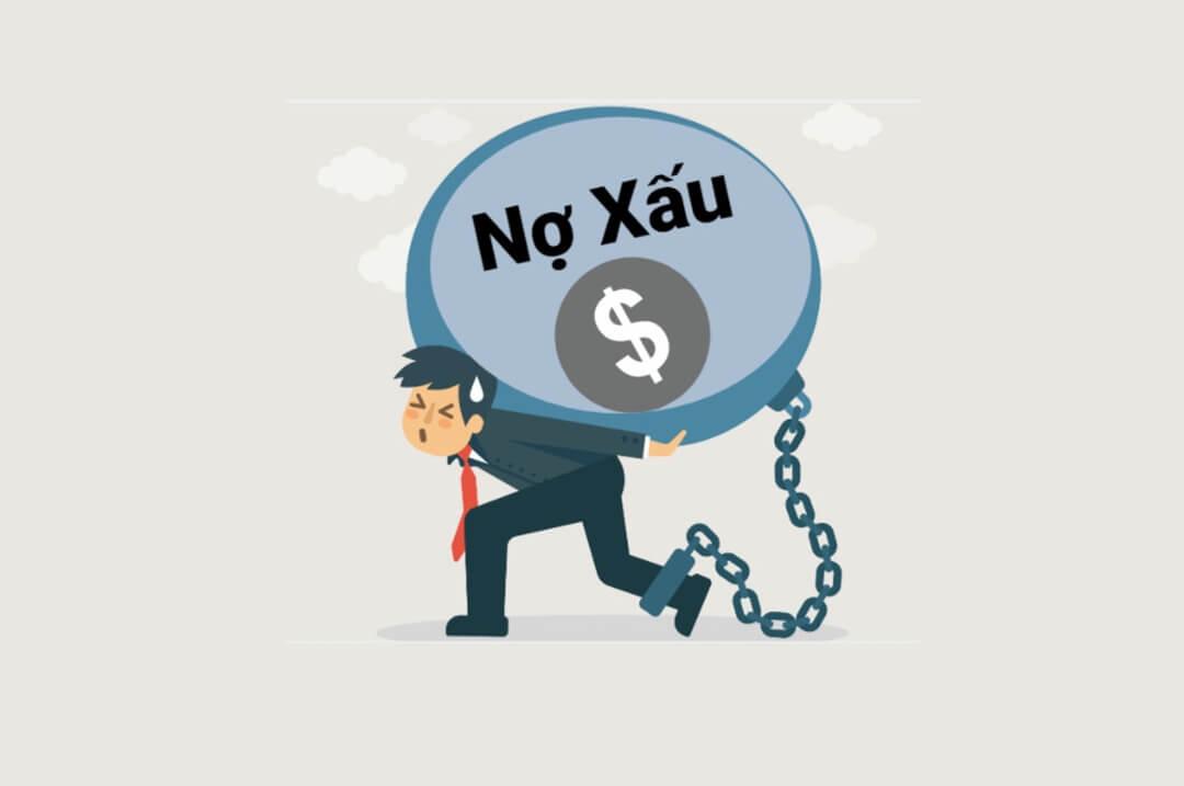 vay online không trả có bị nợ xấu không